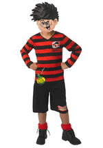 Kids Dennis the Menace fancy dress outfit - Beano