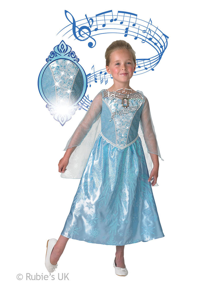 Elsa Costume Lights-up & plays music - Disney Frozen Musical