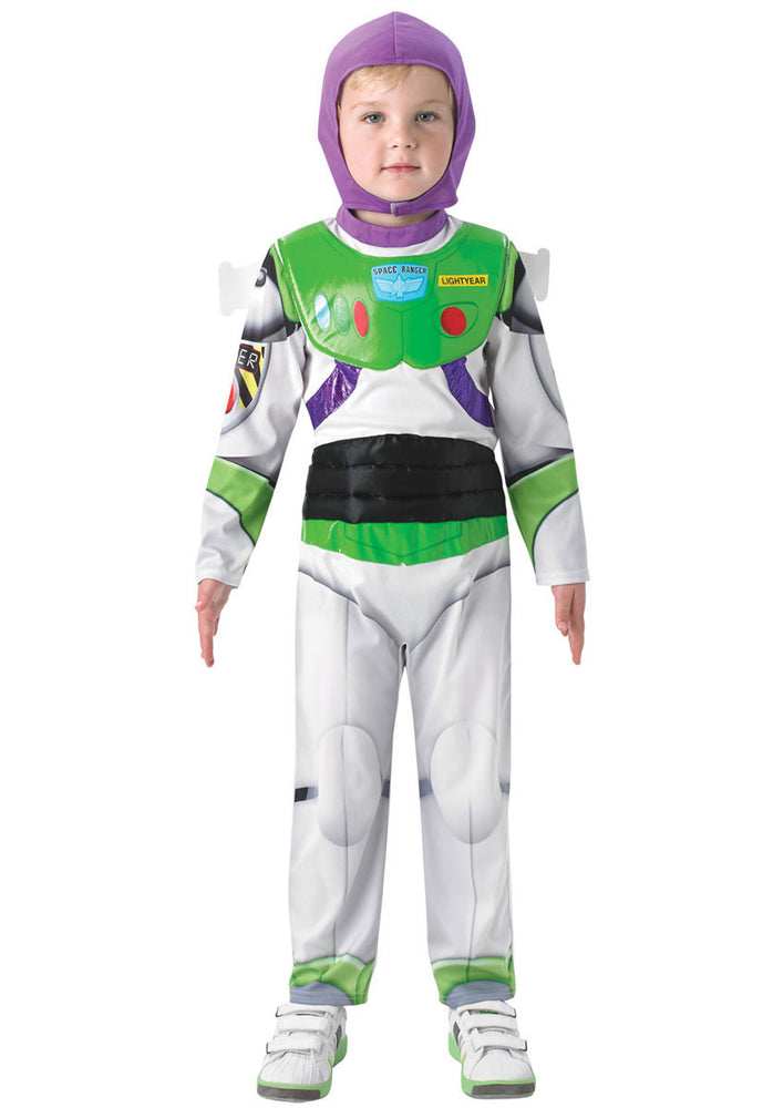 Kids Buzz Lightyear Toy Story Character Deluxe Fancy Dress