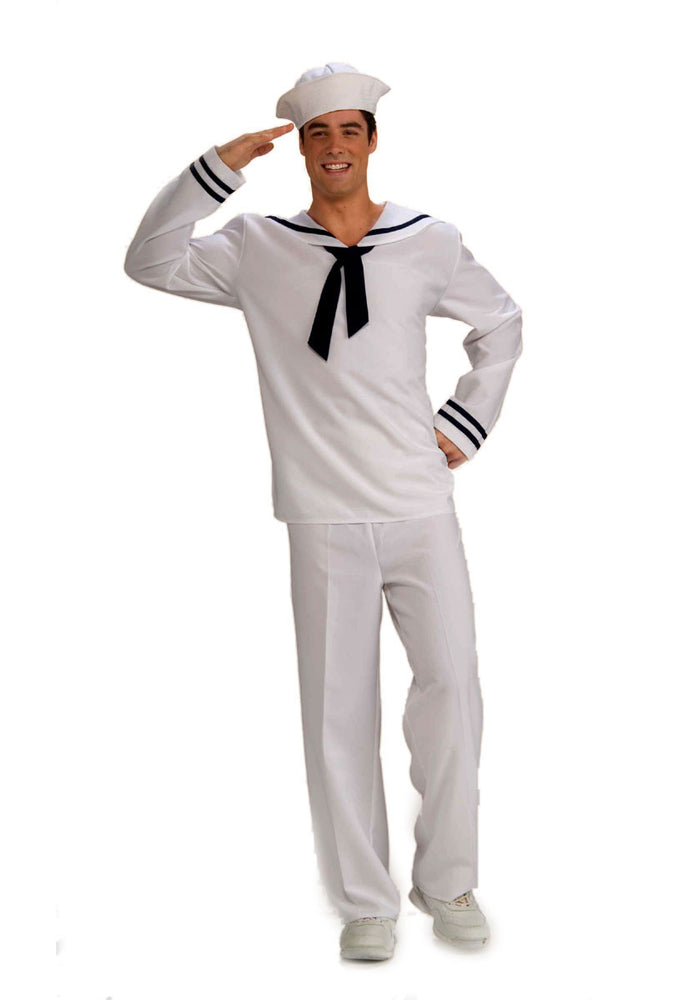 Anchors Aweigh Costume, Navy Fancy Dress Outfit