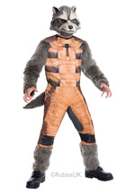 Rocket Raccoon Deluxe Costume, Guardians of the Galaxy