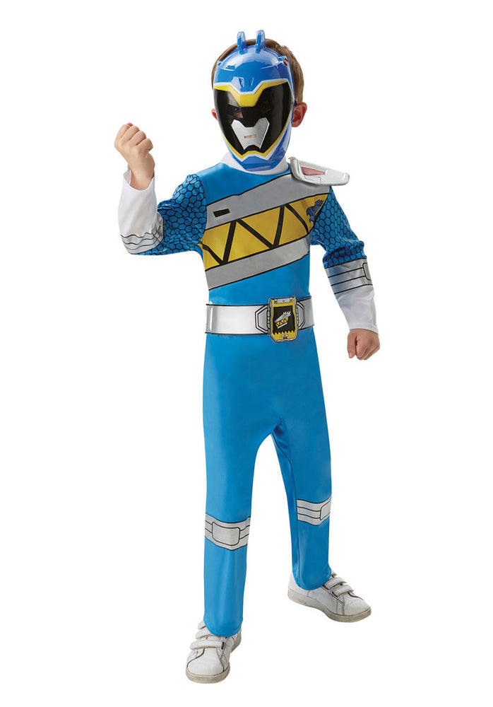 Blue Dino Charge Power Rangers Deluxe Costume (M)