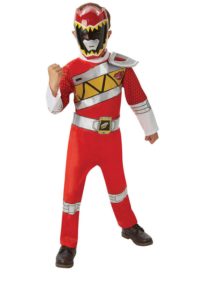 Red Dino Charge Power Rangers Deluxe Costume (M)
