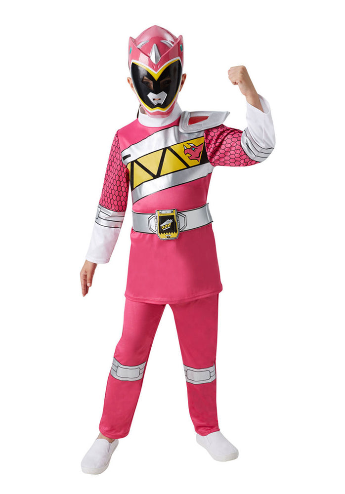 Pink Dino Charge Power Rangers Deluxe Costume (M)