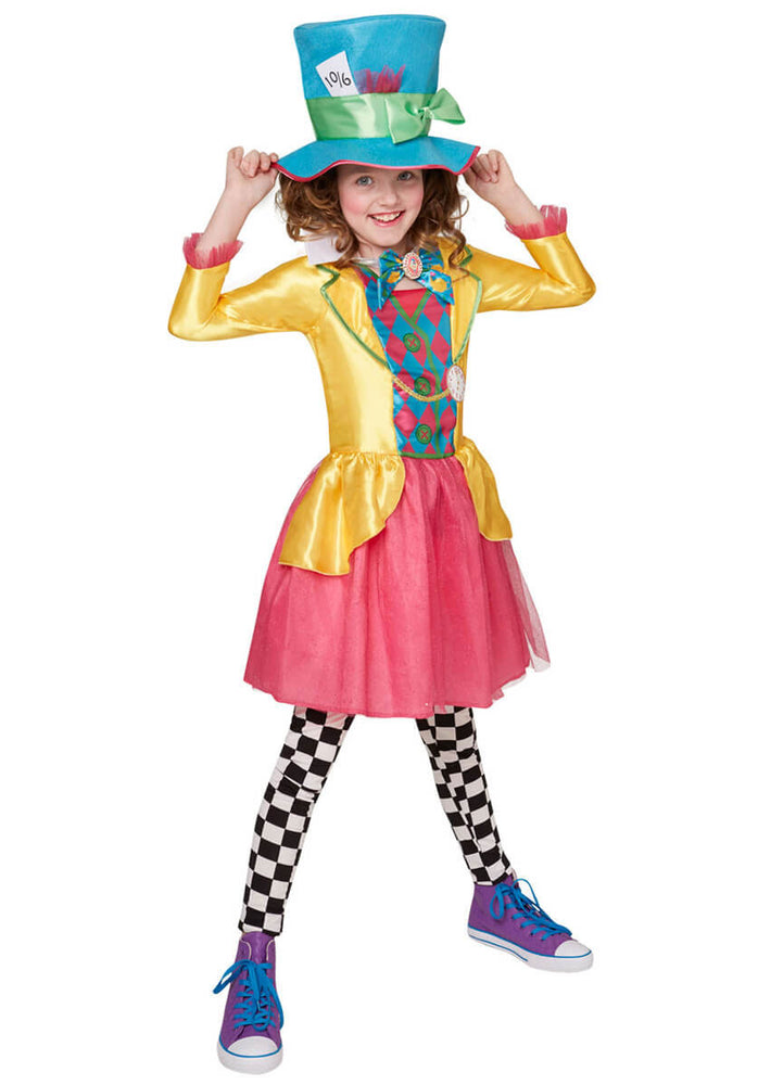 Disney Mad Hatter Girl Costume, Tween