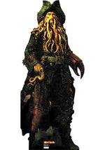 Pirates of the Caribbean Davy Jones Stand Up Cardboard Cutout.