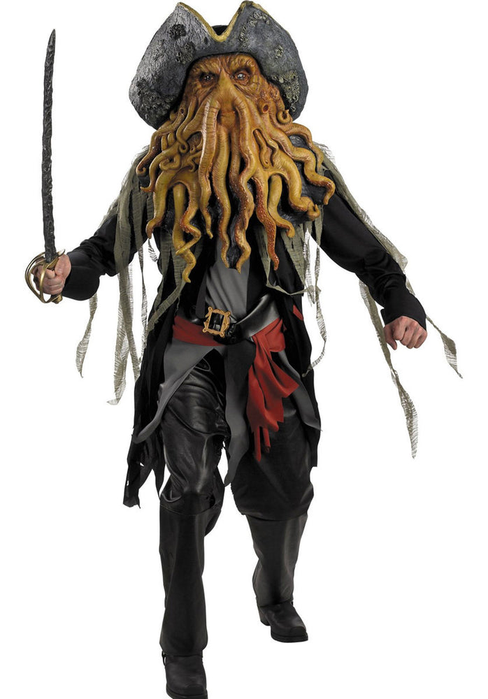 Davy Jones Fancy Dress Costume - Pirates of the Caribbean