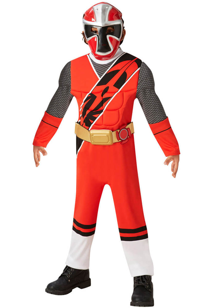 Power Ranger Red Deluxe Costume, Child