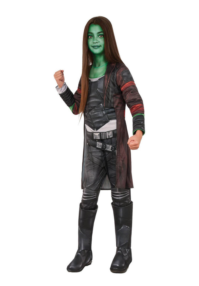 Gamora Guardians Of The Galaxy 2 Deluxe Child Costume