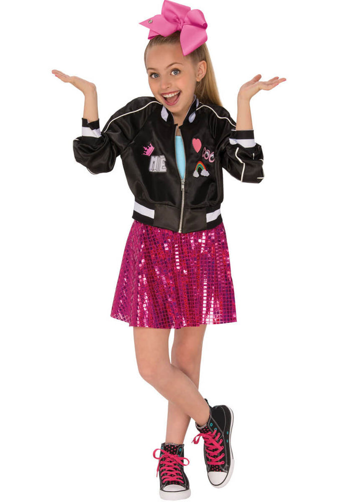 Jojo Siwa Bomber Jacket Outfit Child