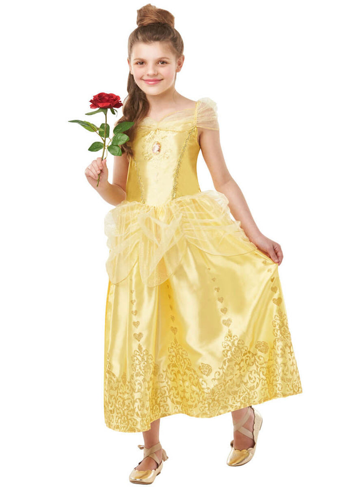 Gem Princess Belle Costume, Tween