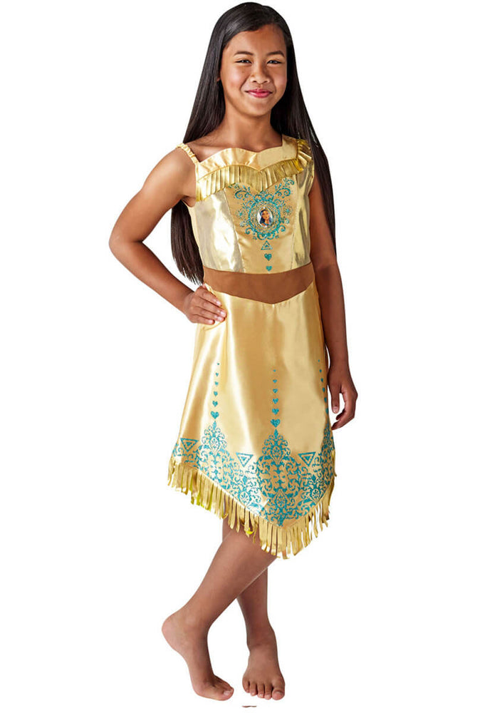 Pocahontas Gem Princess Costume, Tween