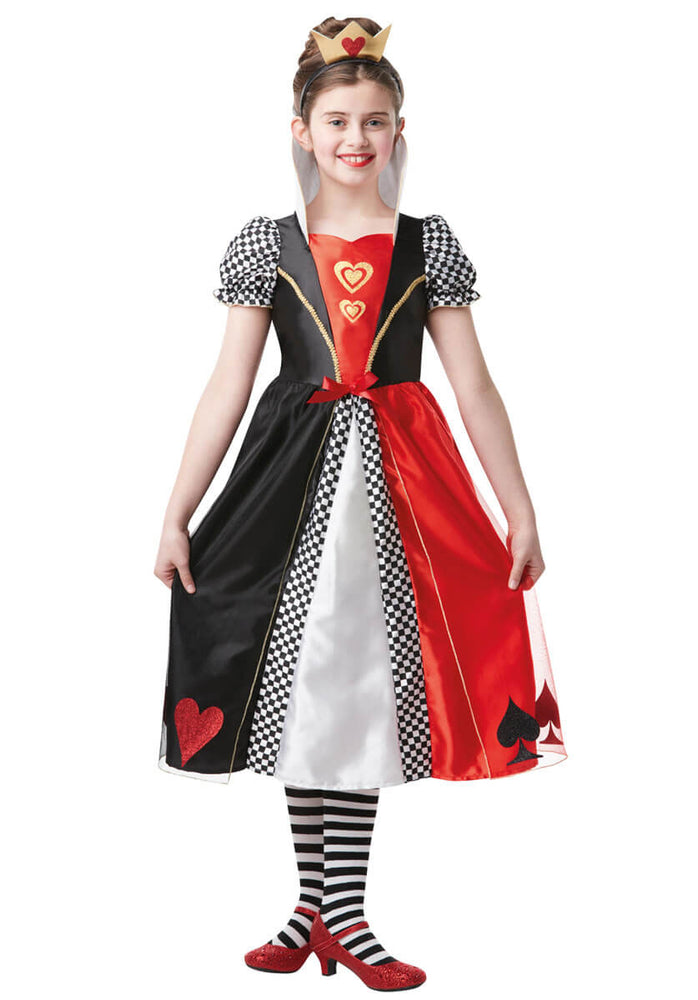 Red Queen of Hearts Tween Costume