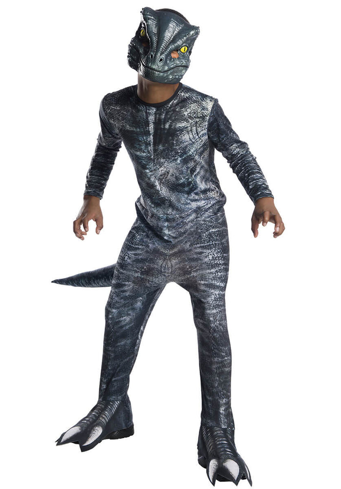 Jurassic World Blue Velociraptor Child Costume