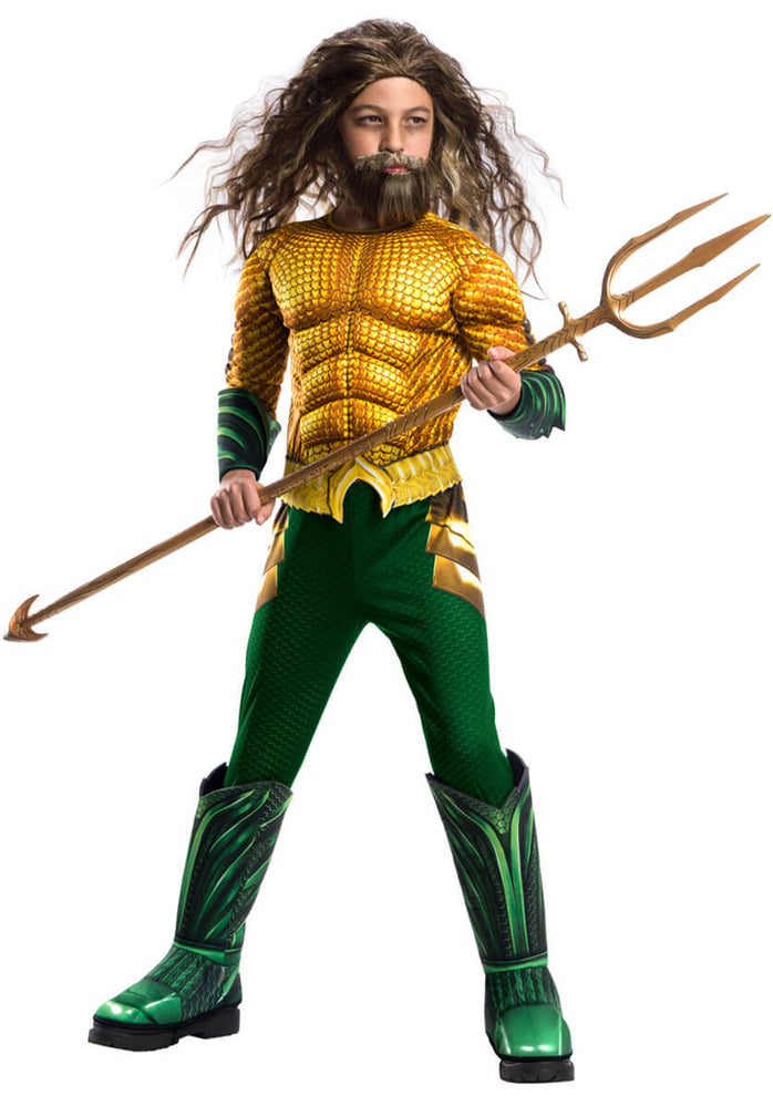 Deluxe Aquaman Child Costume