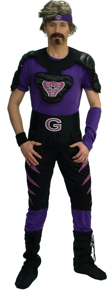 Dodgeball Purple Cobras Deluxe Costume