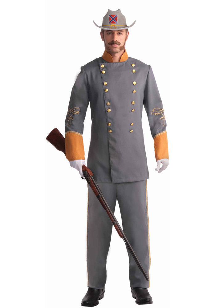 Confederate Army Officer Costume, Plus Size