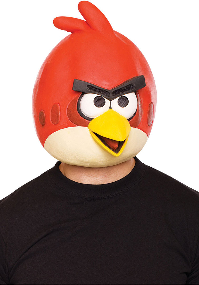 Red Angry Birds Mask, Angry Birds Fancy Dress