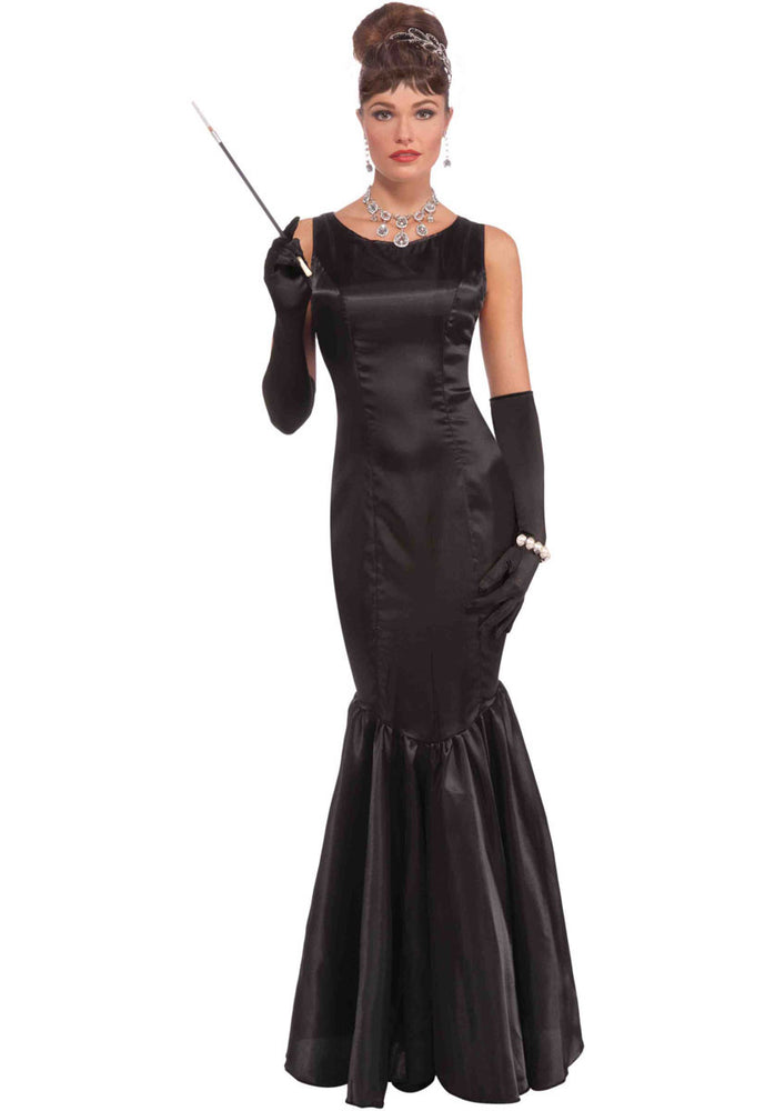 Adult High Society Costume, Audrey Hepburn Fancy Dress