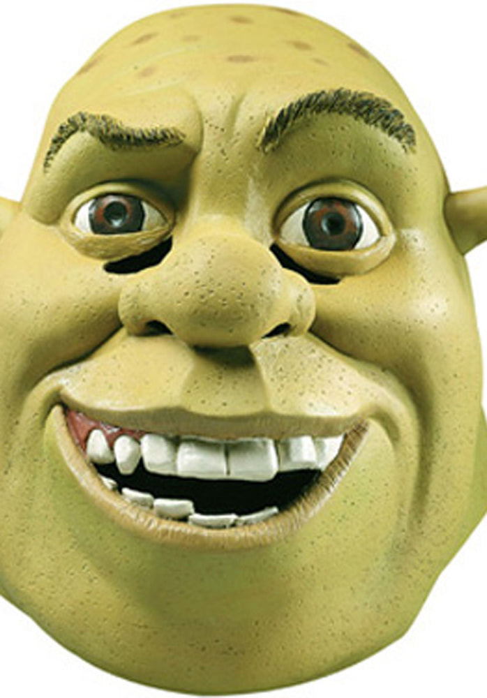 Adult Shrek Mask, Officially Licensed Shrek Fancy Dress