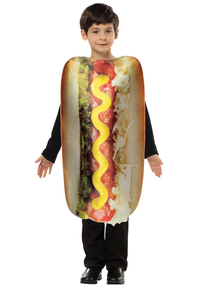 Kids Hot Dog Costume by the 'Get Real' Costume Collection