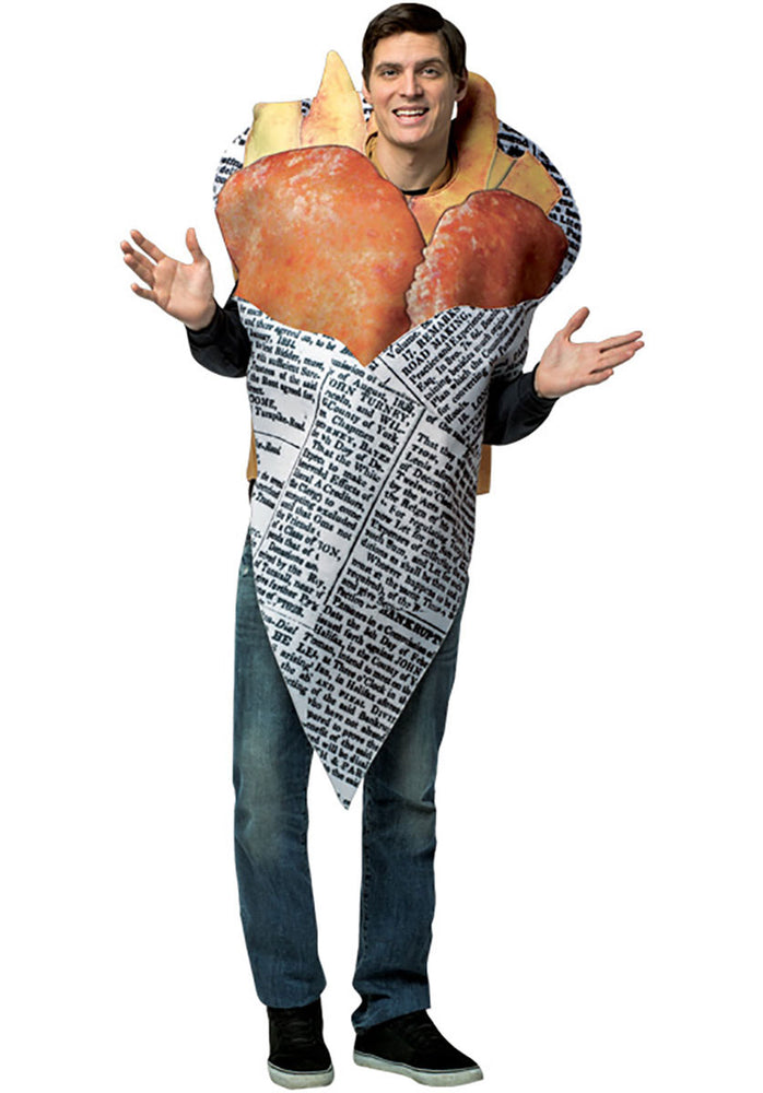 Fish n Chips in Newspaper Funny Fancy Dress Food Costume