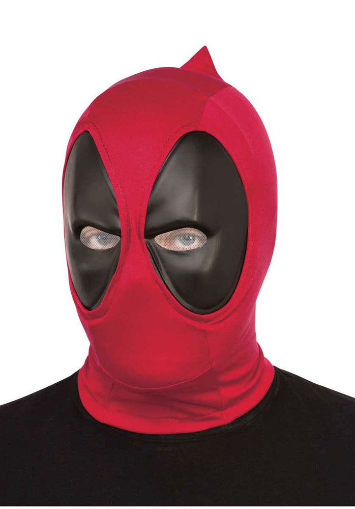 Red and Black Deadpool Overhead Mask