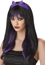 Purple and Black Enchanted Tresses Wig