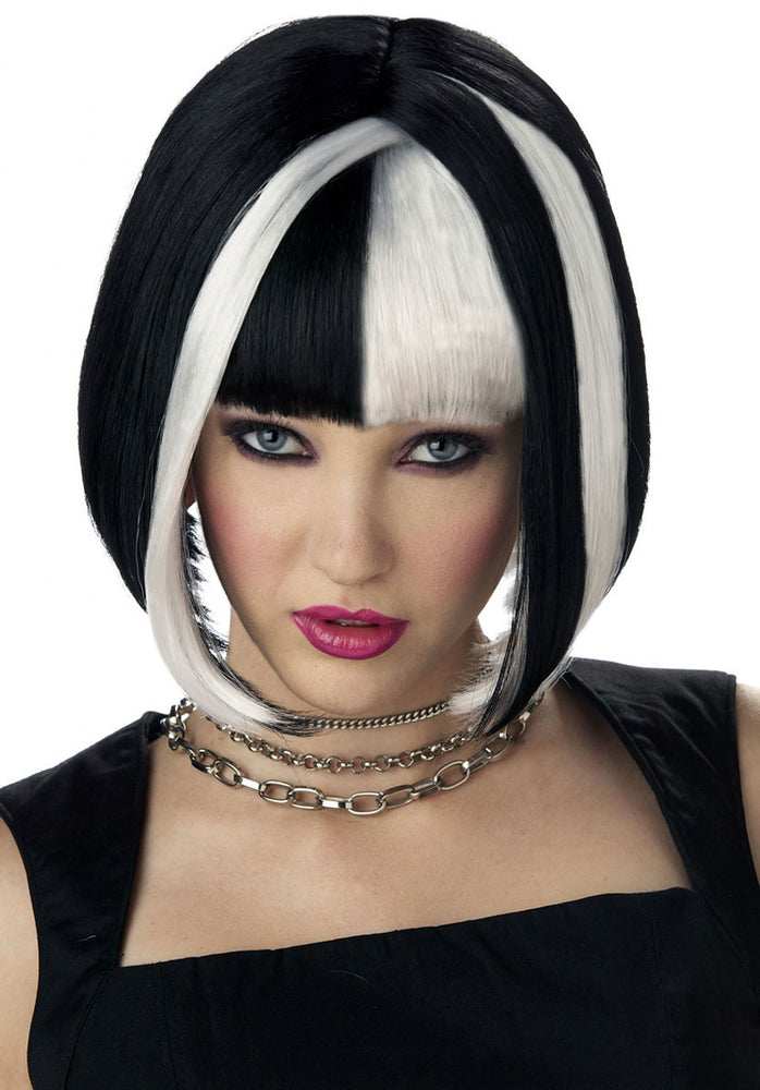 Lethal Passion Wig White & Black