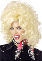 Blonde Country  and Western Diva Wig