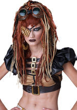 Apocalypse Dreads Wig, Adult Steampunk Style Wig