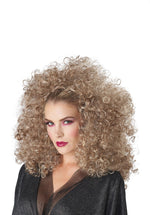 3/4 Curly Fall Wig - Blonde