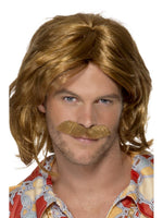 70s Super Trouper Wig & Moustache