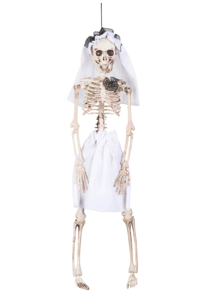 Hanging Skeleton Bride Prop