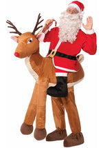 Santa and Rudolph Ride Together Fancy Dress Costume