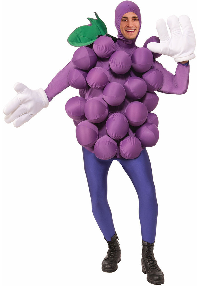 Inflatable Purple Grapes Fruit Dress up Costume Fancy Dress