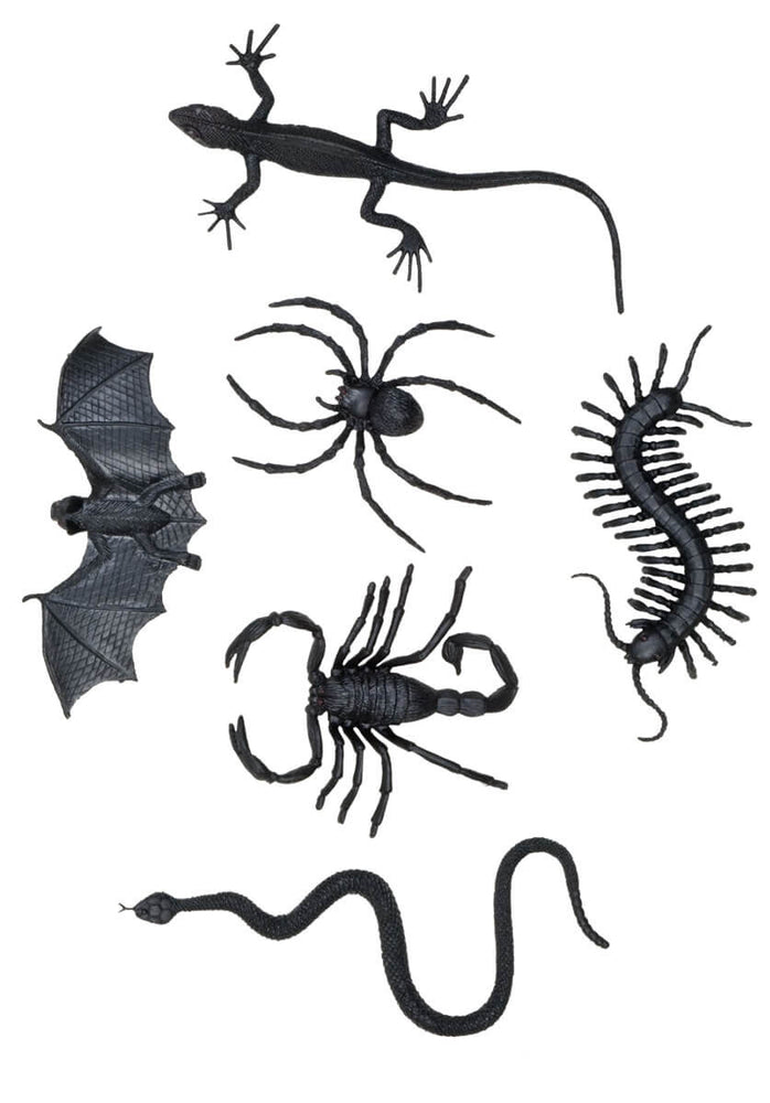 Creepy Creatures set of 6