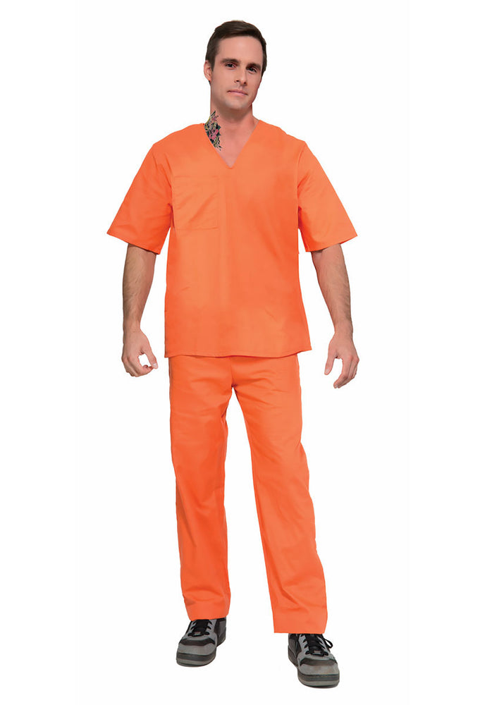 Orange Prisoner Suit, 2 Piece