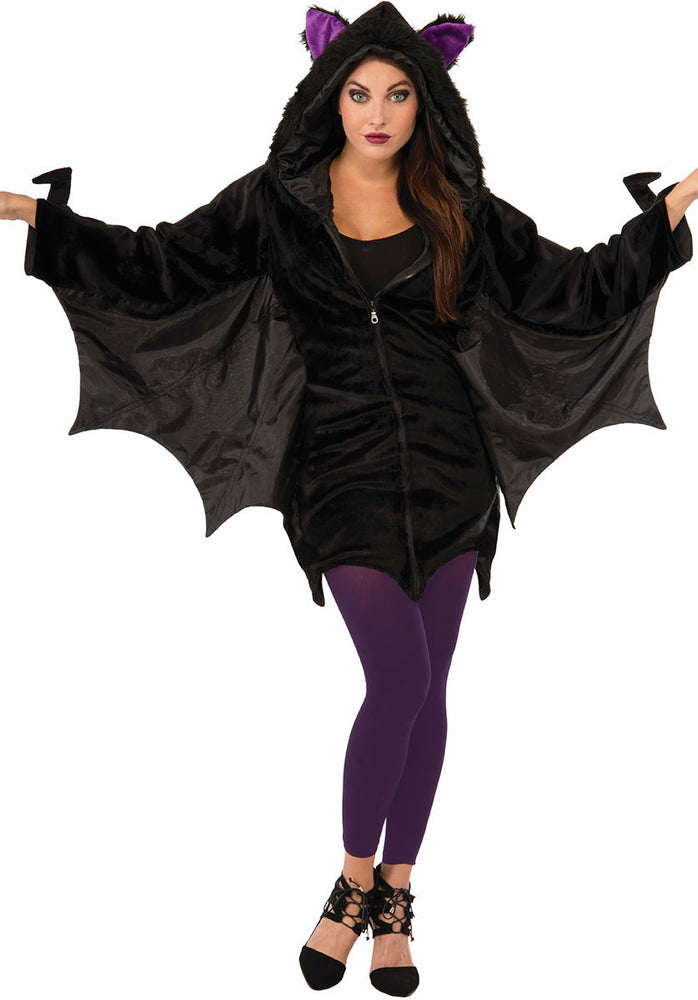 Batwing Costume Hooded Dress Style Bat Onepiece