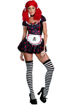 Rockin' Ragdolly Costume, Halloween Ragdoll Fancy Dress