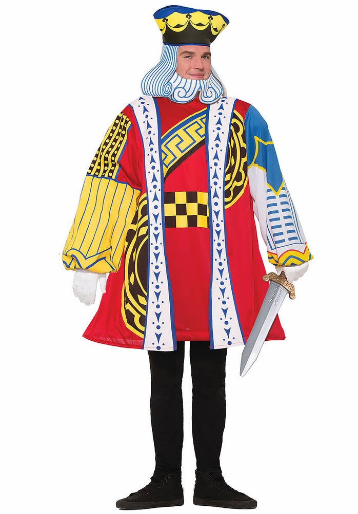 Playing Card King Of Hearts Costume