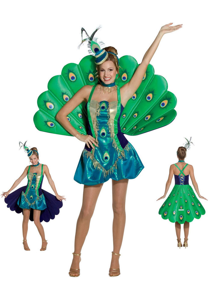 Peacock Costume with Fan Tail