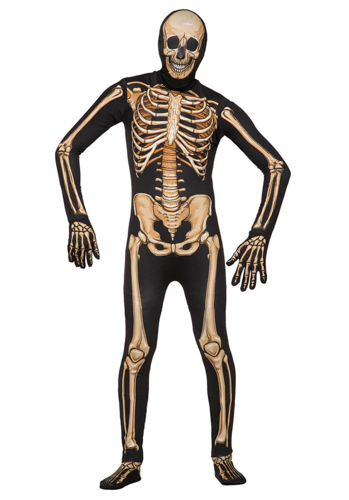 Disappearing Man Deluxe Skeleton Costume