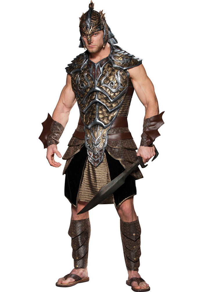 Deluxe Dragon Lord Costume, Fantasy Fancy Dress