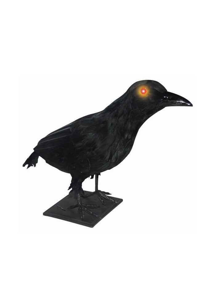 Realistic Crow w/Lights & Sound - Lg
