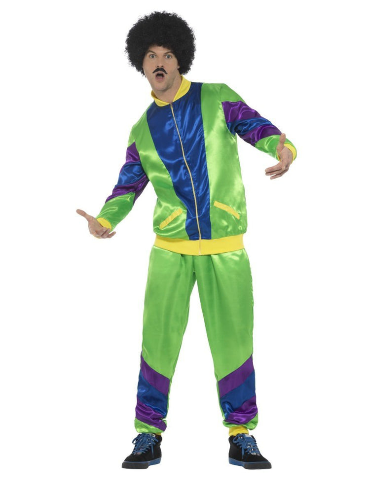 80s Height of Fashion Shell Suit Costume Male