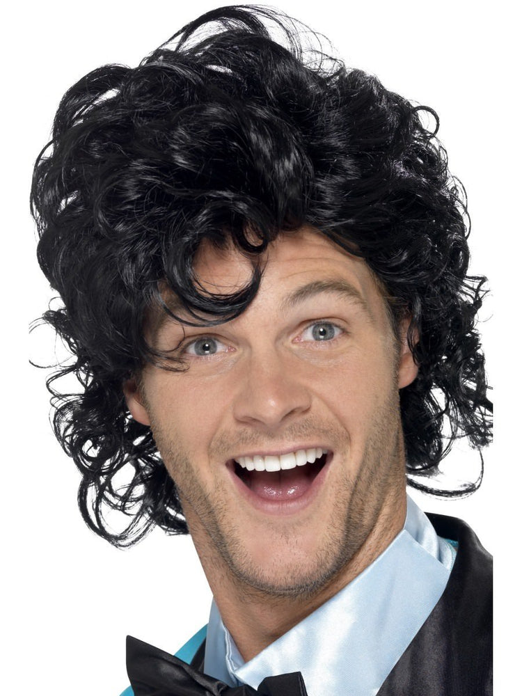 Smiffys 80s Prom King Perm Wig - 43690