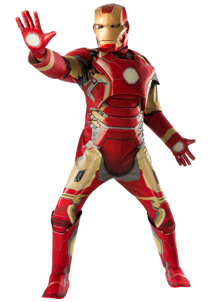 Deluxe Muscle Chest Iron Man Costume