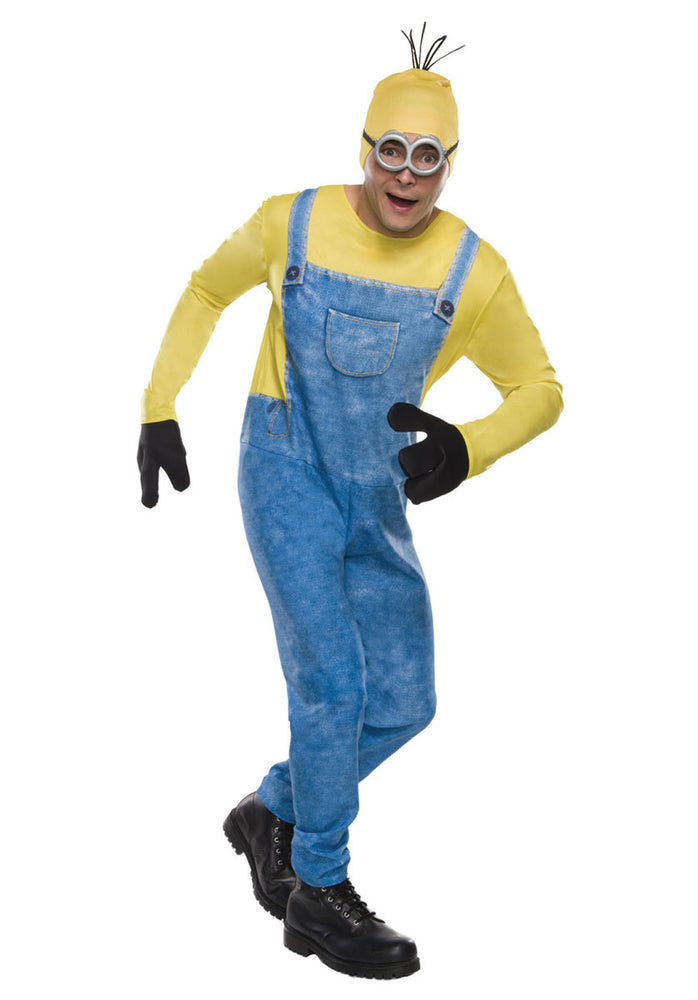 Official Adults Minions Despicable Me Kevin Fancy Dress Costume