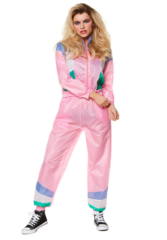 Pink Shell Suit Costume
